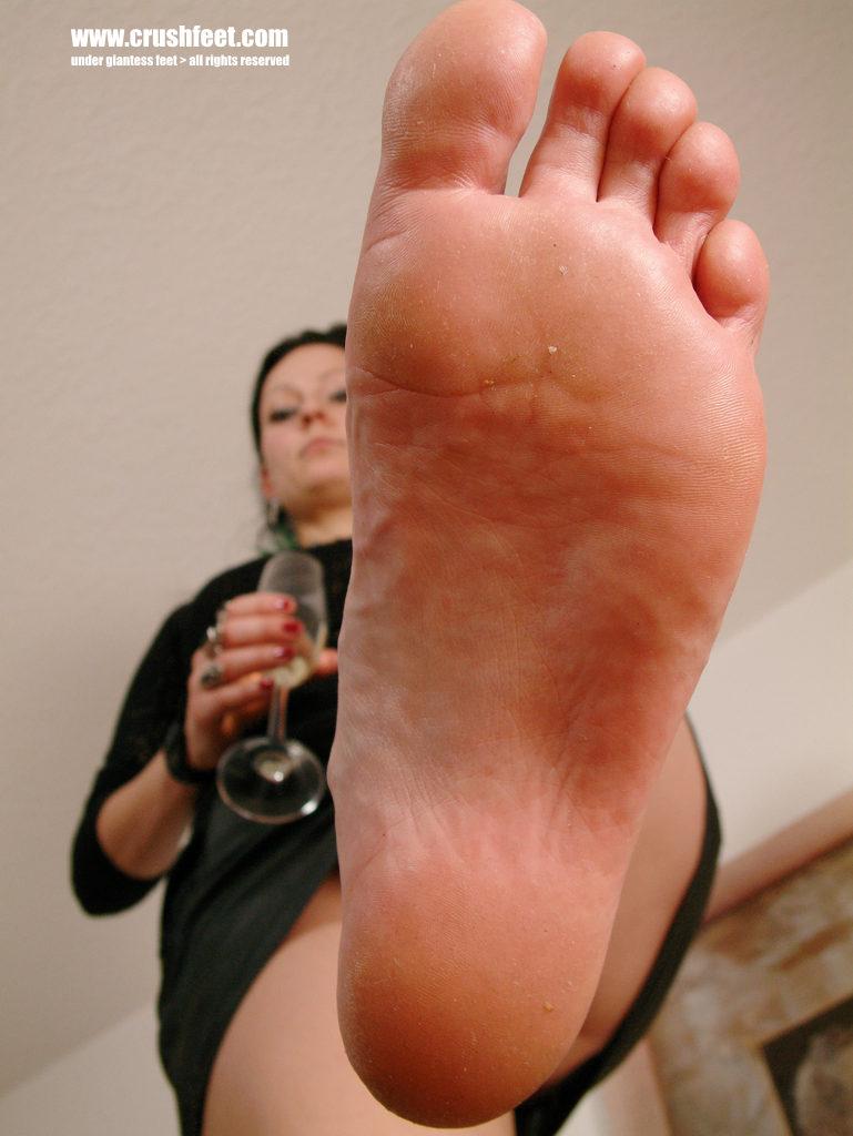 Stocking Feet Anal Fuck